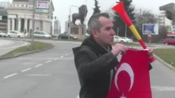 Протест на Турците пред Влада