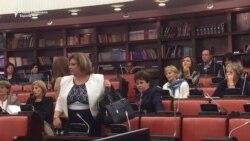 Јанева се пожали на мобинг и ја напушти комисиската расправа