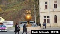 Srebrenica, centralni dio, na dan izbora 15. novembar 2020.