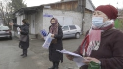 Kazakh Women Picket Chinese Consulate, Demand Release Of Relatives