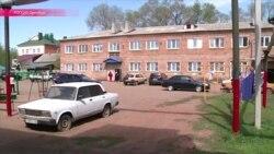 """В Оренбурге """"зачищают"""" общежитие для погорельцев и переселенцев"""