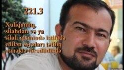 Seymur Həziyev «xuliqanlıq»da ittiham olunur