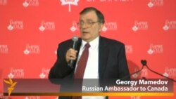 Russian Ambassador To Canada Says West's Sanctions 'Stupid'