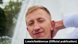 """Віталь Шышоў, кіраўнік """"Беларускага дому ва Ўкраіне"""", які сёньня быў знойдзены павешаным у адным з кіеўскіх паркаў"""