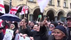 У Тбілісі вийшли на підтримку Саакашвілі (відео)