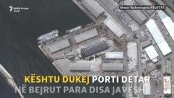 Pamjet nga satelitët tregojnë shkatërrimin në Bejrut