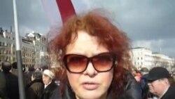 Вольга Мікалайчык пра Надзею Саўчанку