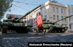 Донецьк напередодні Дня Перемоги