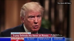"Trump: Putin ""Nu are treabă cu Ucraina"""