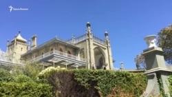 Воронцовский дворец. Весенний пейзаж (видео)
