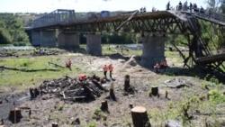 В Станиці Луганській починають ремонтувати міст – відео