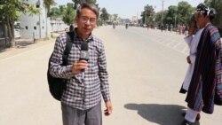 طرفداران نظام الدین قیصاری در جوزجان دست به تظاهرات زدند
