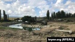 Земляна гребля на Біюк-Карасу