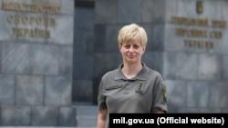 У липні Остащенко стала першою жінкою-командувачем у Збройних силах України