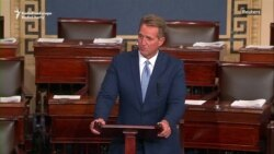 Republican Senator Flake Lashes Out At Trump