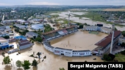 Потоп в Керчи. Керчь, 17 июня, 2021 года