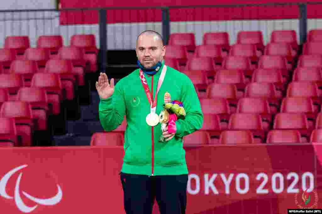 Paralimpia 2020 - Aranyérmes az asztaliteniszező Pálos Péter.