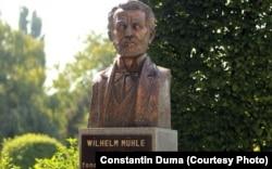 Bustul lui Wilhelm Mühle la Timișoara