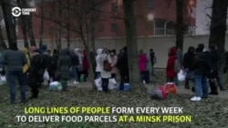 Lines Lengthen Outside Jails As Belarus Tightens Crackdown