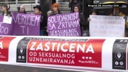 Protest za Mariju Lukić u Beogradu