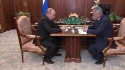 Путин и Шойгу о последствиях трагедии в Баренцевом море