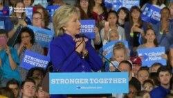 Clinton Chides Trump For Past Comments On Women