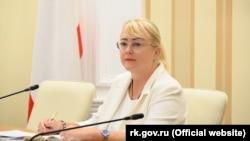 Вице-премьер российского правительства Крыма Ирина Кивико