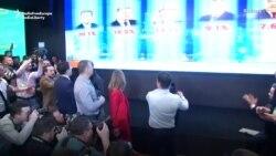 Comedianul Volodimir Zelensky, câștigător al primului tur al alegerilor din Ucraina