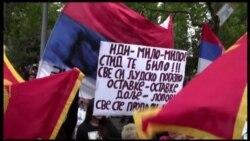 Protest opozicije protiv Vlade Mila Đukanovića