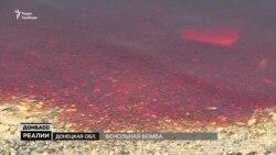 Экологический фронт на Донбассе. Жизнь по соседству с озером химикатов (видео)
