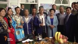Как встречали кыргызскую делегацию в Андижане?