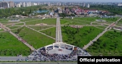 Церемония открытия парка «Ынтымак», 30 августа 2019 года.