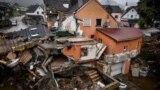 Фото местных властей района Рейн-Эрфт: наводнение в Эрфтштадте, 16 июля 2021
