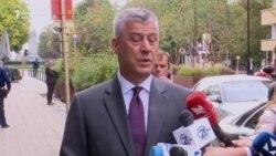 Thaçi: Kosova është unike në favor të dialogut
