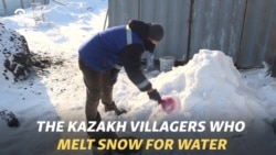 The Kazakh Villagers Who Melt Snow For Water