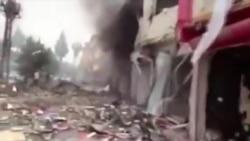 40 Dead In Turkey Car Bombings Near Syria