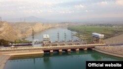 Кайраккумская ГЭС. Август 2019 года.