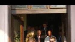 Preşedintele Băsescu la Kladovo