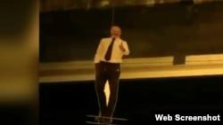"Скриншот из видео телеграм-канала ""Новости Владикавказа"""