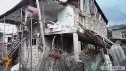 Գնդակոծված տուն Մարտակերտում