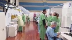 Люди в белых халатах — на передовой борьбы с вирусом