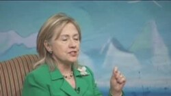 Clinton Praises Kyrgyz Democratic Progress