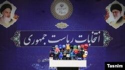 Ирандын Ички иштер министрлиги болочок талапкерлерди атоонун алдында. Тегеран, май, 2021-жыл