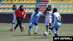 آرشیف: تیم فوتبال بانوان افغانستان