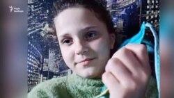 Школярка з Харківщини шиє і дарує маски