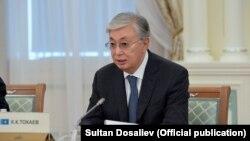 Президент Қасым-Жомарт Тоқаев.