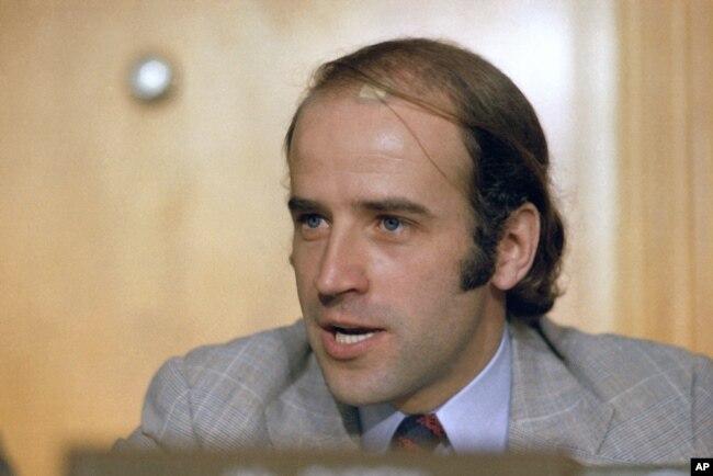 Senator Biden februar 1976.