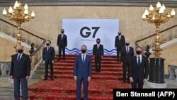 Reuniunea miniștrilor de externe G7 de la Londra, 4 mai 2021.