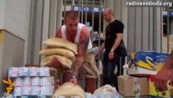 У Дніпропетровську футбольні фани створили склад гуманітарної допомоги для армії
