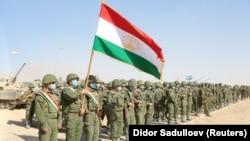 Военные Таджикистана. Иллюстративное фото
